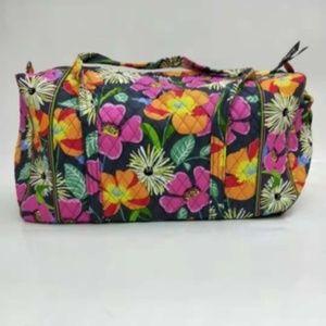 NWT Vera Bradley large duffel Bag Jazzy Blooms